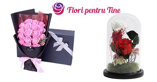 Flori pentru tine cashback - cumpara trandafiri criogenati flori de sapun, aranjamente artificiale si castiga bani online