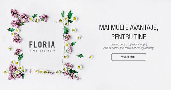 Floria cashback - cumpara buchete de flori, cosuri cu flori, trandafiri si castiga bani online