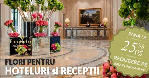 FlorideLux cashback - cumpara buchete flori si aranjamente florale si castiga bani online
