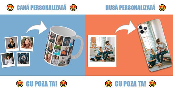 GiftDay cashback - cumpara cadouri personalizate huse tricouri sacose cani covorase si castiga bani online