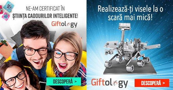 Giftology cashback - cumpara cadouri originale, amuzante, inteligente si castiga bani online
