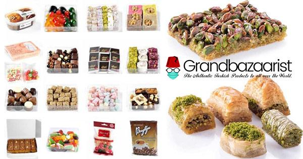 Grand Bazaarist cashback - cumpara Baklava turceasca ceaiuri cafea condimente, deserturi si castiga bani online