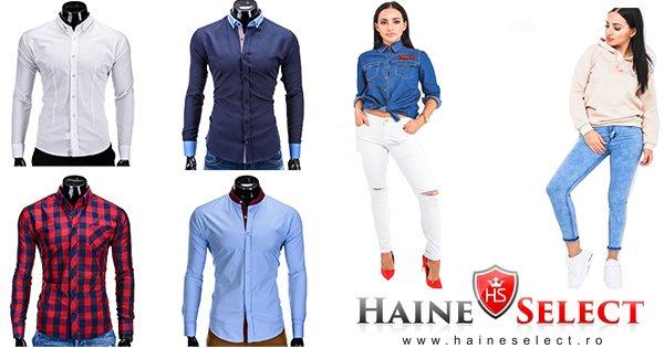 Haine select cashback - cumpara haine pentru femei si barbati si castiga bani online