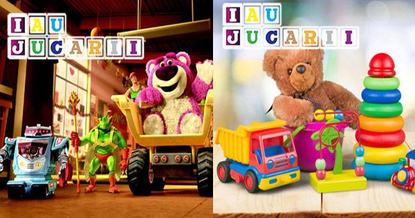 IauJucarii cashback - cumpara lego si jucarii interactive bebelusi si copii si castiga bani online