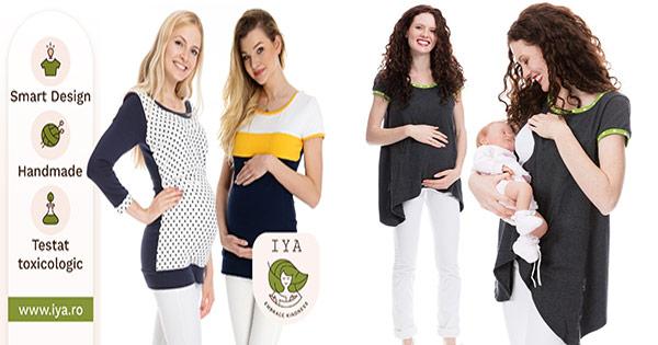 IYA cashback - cumpara haine organice gravide bebelusi copii si castiga bani online