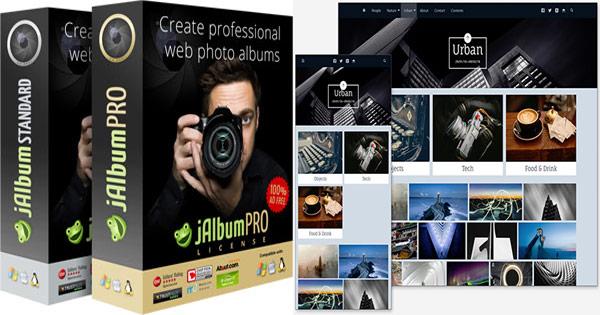 jAlbum cashback - cumpara creare albume foto web, stocare imagini albume si castiga bani online