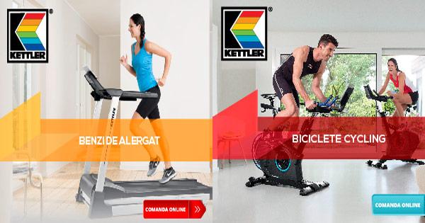 Justfit cashback - cumpara echipamente fitness Kettler, Techfit, Toorx si castiga bani online