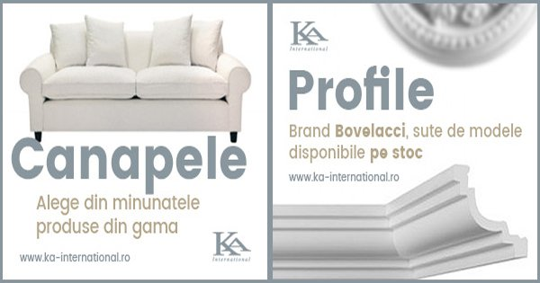 KA International cashback - cumpara decoratiuni interioare, mobilier, tapet si castiga bani online