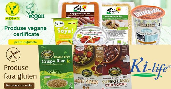 Ki-Life cashback - cumpara produse bio, naturiste, vegane, fara gluten si castiga bani online