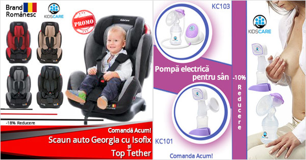KidsCare cashback - cumpara scaune auto copii, carucioare, patuturi si castiga bani online