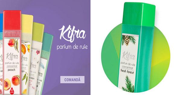 Kifra cashback - cumpara parfumuri de rufe concentrate, auto, de camera si castiga bani online