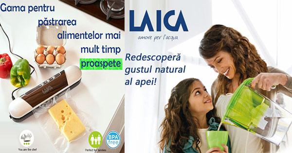 Laica Shop cashback - cumpara cani filtrare apa cartuse, cantare, umidificatoare si castiga bani online