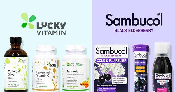 Lucky Vitamin cashback - cumpara multivitamine suplimente alimentare cosmetice antioxidanti si castiga bani online