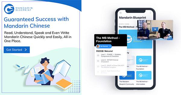 Mandarin Blueprint cashback - cumpara curs online invatare limba chineza si castiga bani online