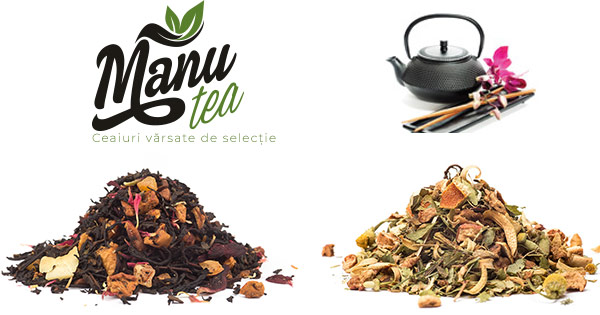 ManuTea cashback - cumpara ceai verde negru alb, rooibos matcha, ceaiuri bio si castiga bani online