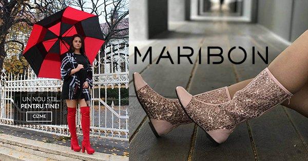 Maribon Incaltaminte cashback - cumpara pantofi dama, ghete, cizme, botine si castiga bani online