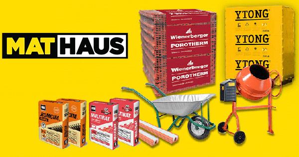 MatHaus cashback - cumpara materiale de constructii plasa tabla ciment boltari si castiga bani online