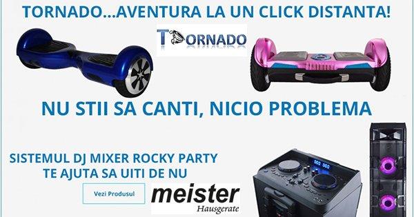 MeisterH cashback - cumpara electrocasnice electronice hoverbord-uri si castiga bani online