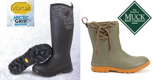 Muck Boot cashback - cumpara cizme inalte scurte din piele femei barbati copii si castiga bani online