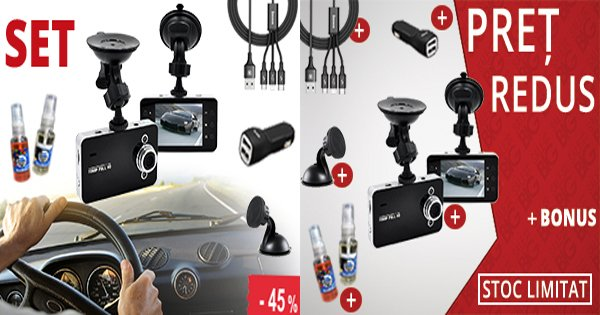 OfertaDeSezon cashback - cumpara camera auto HD , incarcator auto, odoriante si castiga bani online