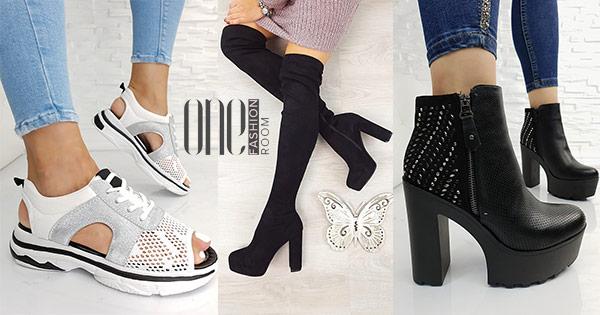 One Fashion Room cashback - cumpara pantofi dama cizme sandale ghete blugi si castiga bani online