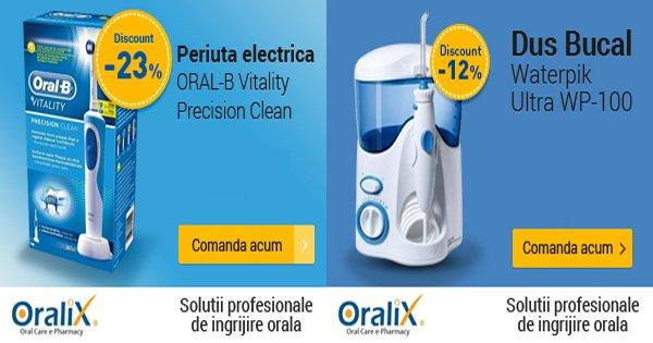 Oralix cashback - cumpara periute de dinti, dusuri bucale, pasta de dinti si castiga bani online