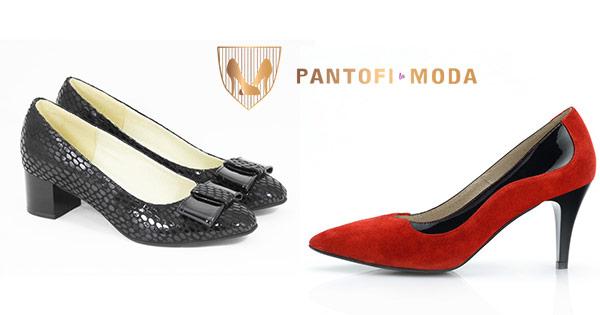 Pantofi moda cashback - cumpara pantofi dama piele naturala rosii sandale femei si castiga bani online
