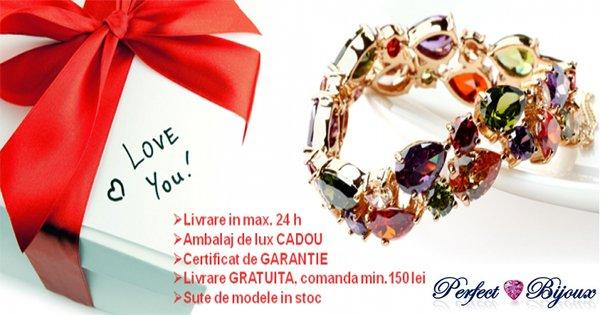 Perfect Bijoux cashback - cumpara bijuterii cu cristale swarovski si castiga bani online