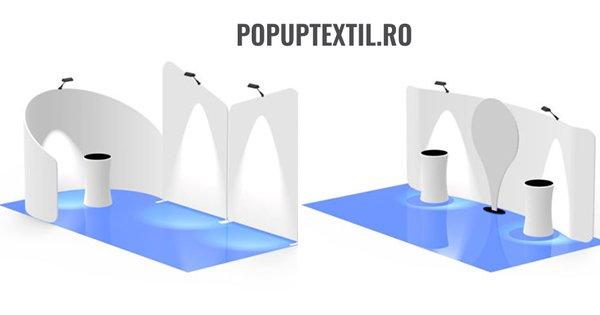 PopUpTextil cashback - cumpara sisteme si standuri expozitionale, steaguri si castiga bani online