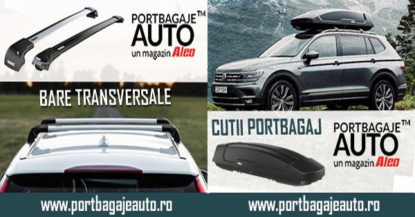 PortbagajeAuto cashback - cumpara bare transversale auto, cutii portbagaj si castiga bani online
