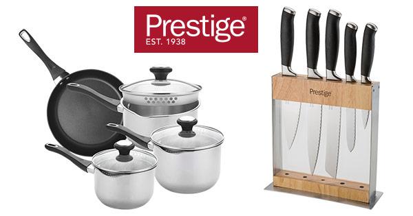 Prestige Bucataras cashback - cumpara vase de gatit, oale, tigai, vase pentru cuptor, cutite si castiga bani online