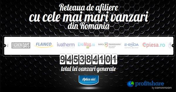 Profitshare cashback - participa in platforma de marketing afiliat si castiga bani online