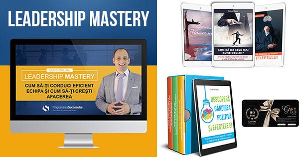 Programarea Succesului cashback - cumpara cursuri online de Leadership si castiga bani online
