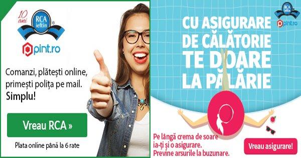 RCA Ieftin cashback - cumpara asigurari medicale de calatorie si castiga bani online