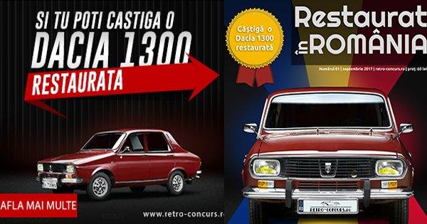 Retro concurs cashback - cumpara revista restaurari auto in Romania si castiga bani online