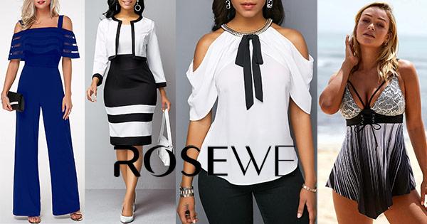 Rosewe cashback - cumpara imbracaminte dama rochii costume de baie si castiga bani online