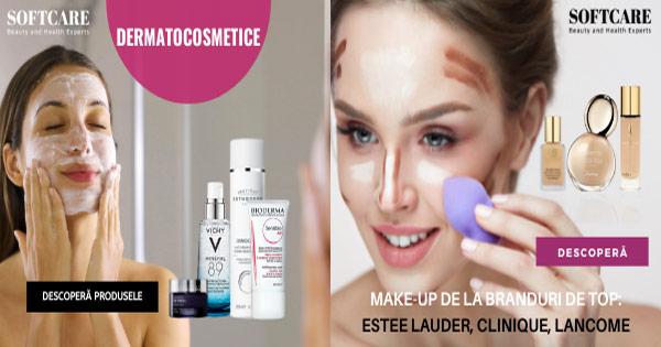 SoftCare cashback - cumpara aparate ingrijire sanatate, cosmetice make-up parfumuri si castiga bani online