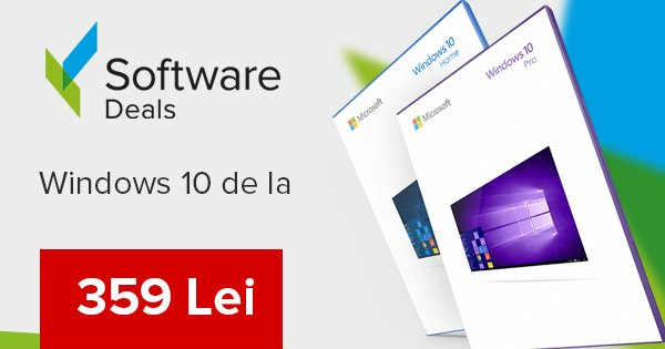 Software Deals cashback - cumpara licente windows 10, office 2016 si castiga bani online