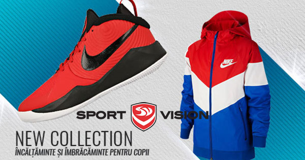 Sport Vision cashback - cumpara imbracaminte sport femei barbati copii si castiga bani online