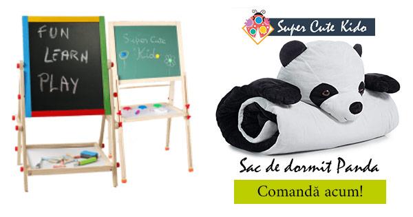 SuperCuteKido cashback - cumpara ghiozdane, table accesorii, saci de dormit si castiga bani online