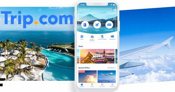 Trip.com cashback - cumpara rezervari hoteluri zboruri, bilete avion tren, calatorii si castiga bani online