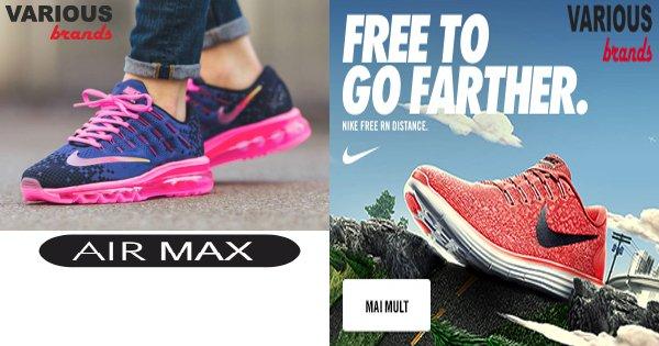 Various Brands cashback - cumpara adidasi si haine sport si castiga bani online