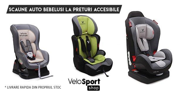 VeloSportShop cashback - cumpara scaune auto, articole bebelusi, copii si castiga bani online