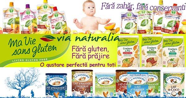 Via Naturalia cashback - cumpara alimente bio ecologice, produse fara E-uri si castiga bani online