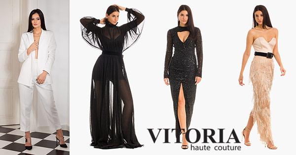 Vitoria cashback - cumpara rochii haute couture pentru evenimente, sacouri si castiga bani online