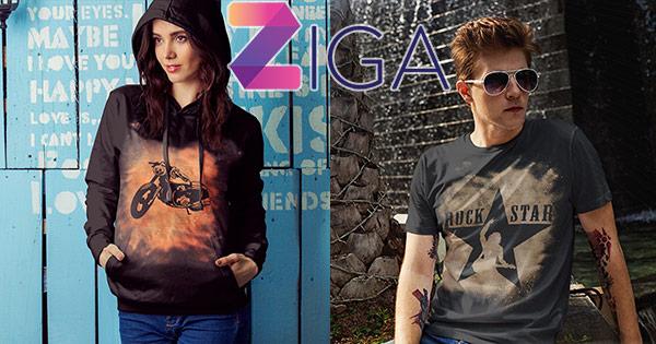 Ziga cashback - cumpara hanorace tricouri personalizate cani parne cesuri de perete si castiga bani online